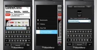 UsetheBlackBerry10Browser