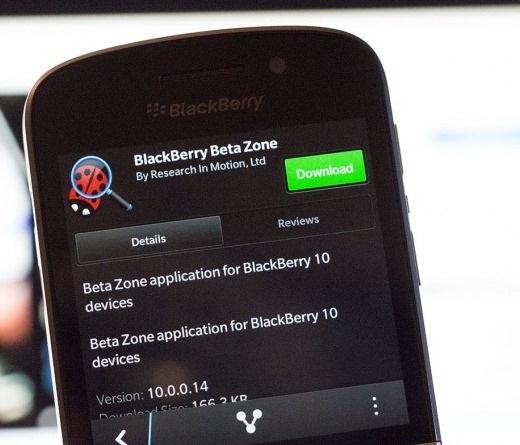 BetaZoneBlackBerry10
