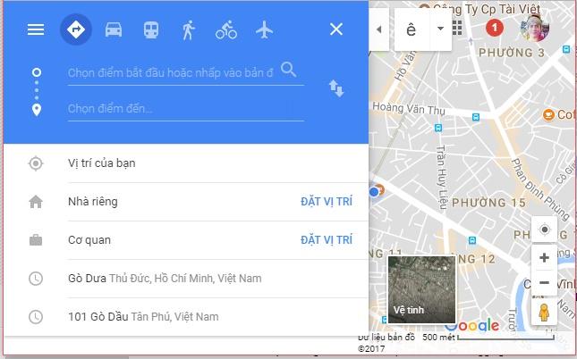 یک ترفند مفید در Google Maps که شاید شما نمیدانید؟؟ 3 2