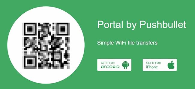 انتقال اطلاعات از PC به گوشی آسان و سریع توسط برنامه Portal 2 5