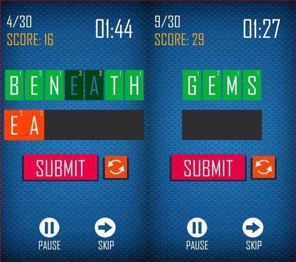 دانلود بازی بازی با لغات Anagramble برای BB10 3 6